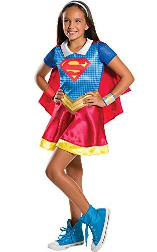 Rubies–i-630448m–Dekoration–bi-pack Klassische Supergirl–Wonder Woman, Größe M