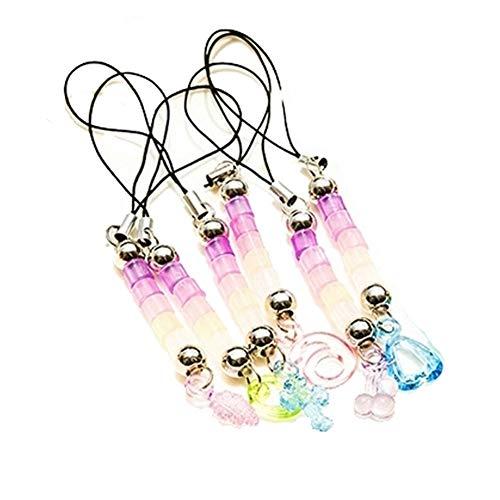 Newin Star UV ultraviolette Buche Che ambiano Farbe Kette Schlüssel Beads Anhänger der Tasche Geschenk 10 Stück