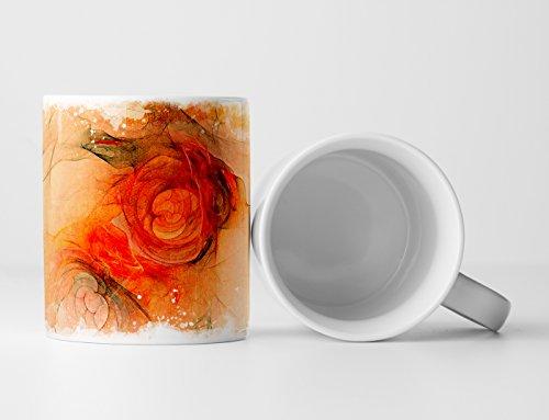 EAU ZONE Design Abstrakt Tasse Geschenk (Einlösen Von Geschenkkarten Von Amazon)