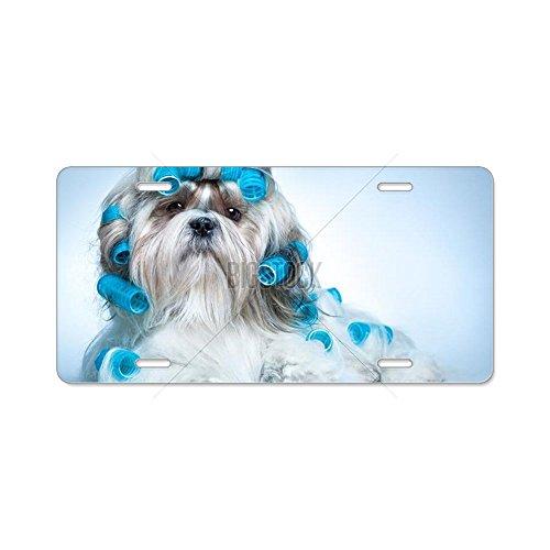 CafePress-Shih Tzu perro rizadores con-aluminio