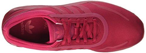 adidas Los Angeles J, Entraînement de course femme Rouge - Rosso (Unipnk/Unipnk/Crapnk)