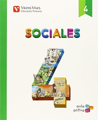 Sociales 4 (aula Activa) - 9788468228914 por Margarita Garcia Sebastian
