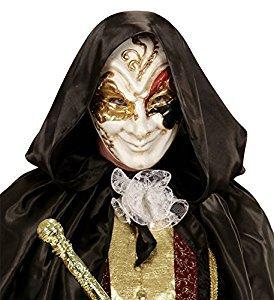 WIDMANN 04726 máscara veneciana Sornione Lujo, multicolor, talla única