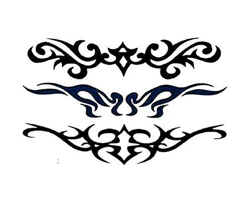(S-097) - Pegatinas para tatuajes temporales Pegatinas para el cuerpo temporal Hoja de adhesivos para tatuajes para - mujer