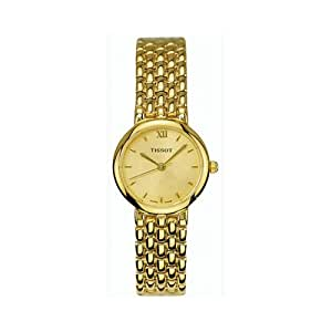 Tissot Ladies' T-Classic SEASTAR ELEGANCE Gold Tone Watch T38528521