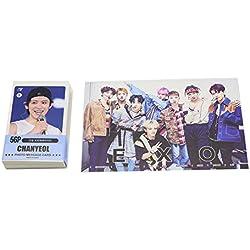 EXO Chanyeol Kpop Solo Ensemble de mini cartes Photo (59pcs)