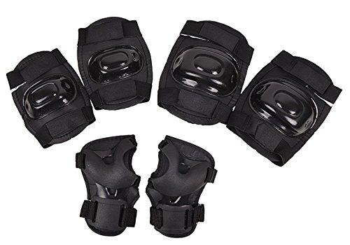 Schutzausrüstung Skateprotektoren Protektoren Knieschoner Inliner Roller HUZZ (XS)