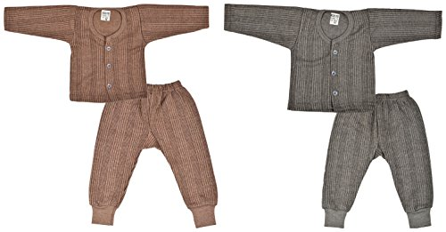Kuchipoo Front Open Kids Thermal - 12-18 Months (Pack of 2)