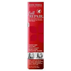 John Frieda Full Repair Brume Légère Réparateur Matière Cheveux Abîmés 75 ml