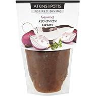 Atkins y Potts Gluten Red Onion 350g Salsa