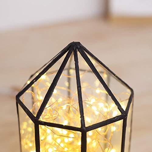 Kreative Massivholz LED Nachtlicht Feuer Baum Silber Blume Weihnachtsbeleuchtung USB Tischlampe Geburtstagsgeschenk Valentinstag Geschenk