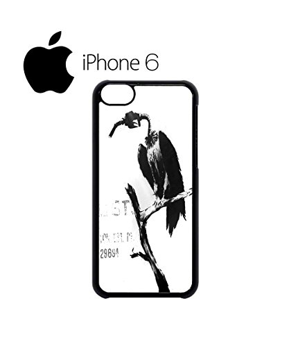 Banksy Petrol Gas Pump Head Vulture Dungeness Swag Mobile Phone Case Back Cover Hülle Weiß Schwarz for iPhone 6 White Weiß