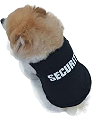 Veste de coton plein en été Elyseesen 2017 fashion Summer chien mignon gilet pour animaux chiot imprimé coton T Shirt