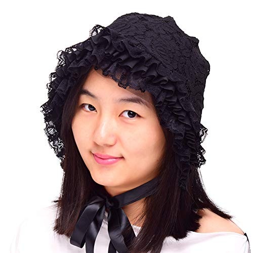 chen Bonnet Hausmädchen Hut (Style-2) ()