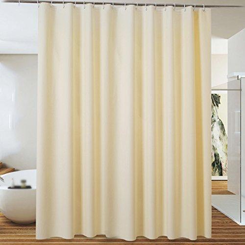 Rideaux de douche Rideau de douche EVA Matériel imperméable et respirante Salle de bains Solide Couleur plus épais Durable ( taille : 220 x 200 cm )