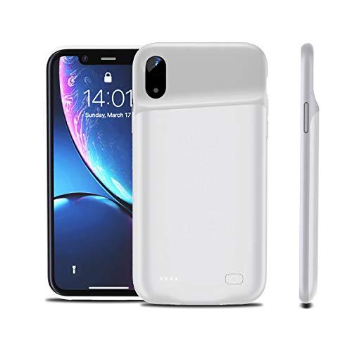 fitmore Coque Batterie pour iPhone XR [4200mAh] Mince Rechargeable Chargeur Batterie Portable Batterie Externe...