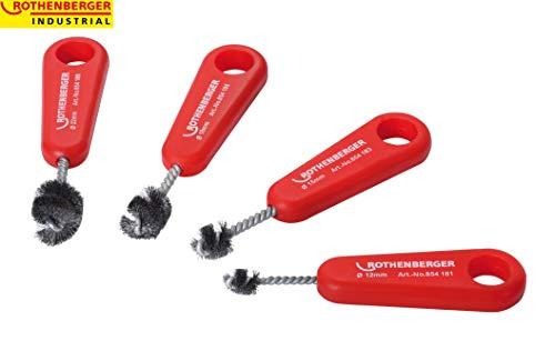 Rothenberger 854185 Brosse interne pour tube cuivre 18 mm, Rouge/Argent
