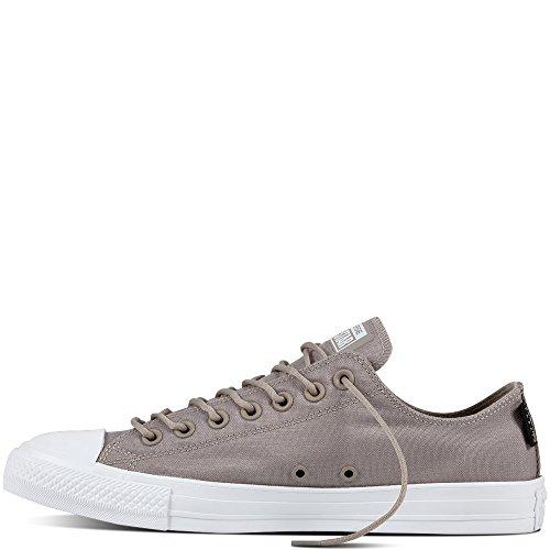 Converse Chuck Taylor All Star Bue Sneaker Herren Schuhe Grau Malted / Bianco