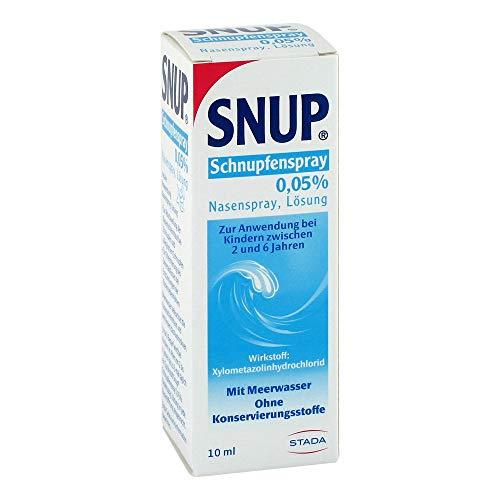 Snup Schnupfenspray 0,05{7f405708b292f4847b6e817de528d9638b8a66ac9b2745c6f7b1a245e6477a4d} 10 ml