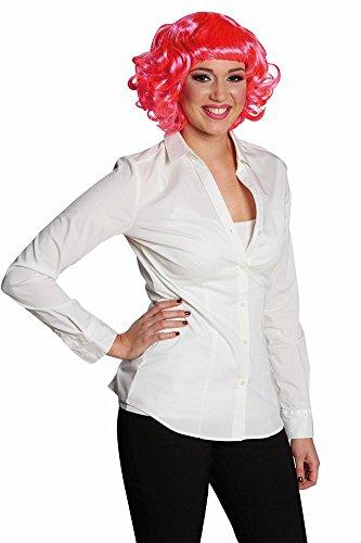 Kostüm Zubehör Damen Perücke Pinky Rose Karneval Fasching (Perücke Pinky)