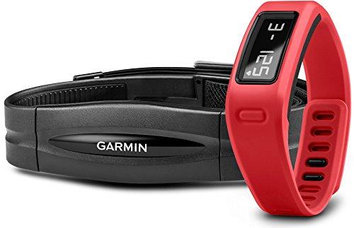 Garmin vívofit - rastreadores de actividad (Muñequera, OLED, Inalámbrico, Rojo, 120 - 175 mm, Android, iOS)