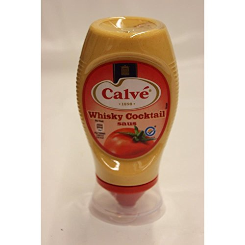 Calvé Whiskey Cocktail Saus 250ml Tube (Whiskey Cocktail Sauce)