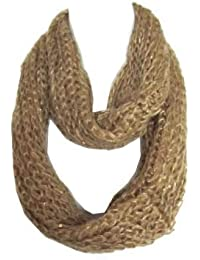 Braided Sequenced Detail Soft Woven Infinity Loop Figure Eight Scarf