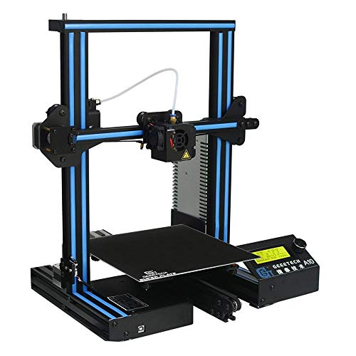 Geeetech 3D-Drucker A10 Aluminium Prusa I3 3D-Drucker 220 * 220 * 260mm Druckgröße mit Open Source GT2560-Steuerplatine Unterstützung Fernbedienung/Offline-Druck 1.75mm 0.4mm Düse
