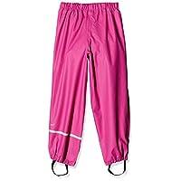Celavi Unisex Rainwear Solid Rain Trousers, Real Pink, 110 cm