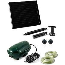 CLGarden STL1 Solar Aireador para estanque de jardín estanque Ventilador