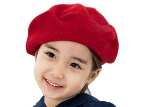 fulltimer-enfants-filles-bailey-hat-dome-beret-bonnet-pasteque-rouge