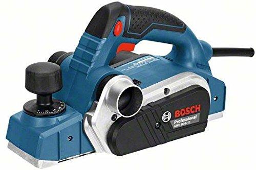 Bosch Professional Handhobel GHO 16-82, Parallelanschlag, Sechskantstiftschlüssel SW 2,5, Stoffstaubbeutel, 1 Stück, 06015A4000