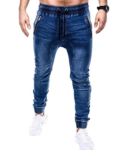 BetterStylz RendoBZ Jogginghose Jeansoptik Style Sweathose Jogger Jogg Jeans in div. Ausführungen (L)