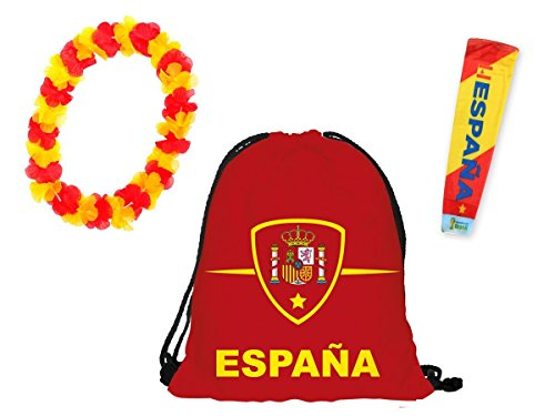 offerta-kit-tifosi-spagna-fp-22-set-da-3-pezzi-1-x-manicotto-braccio-1-x-sacca-sportiva-1-x-collana-