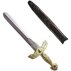 Real Espada withScabbard 45cm Espadas Novedad juguete Armas y armadura para Disfraces accesorios
