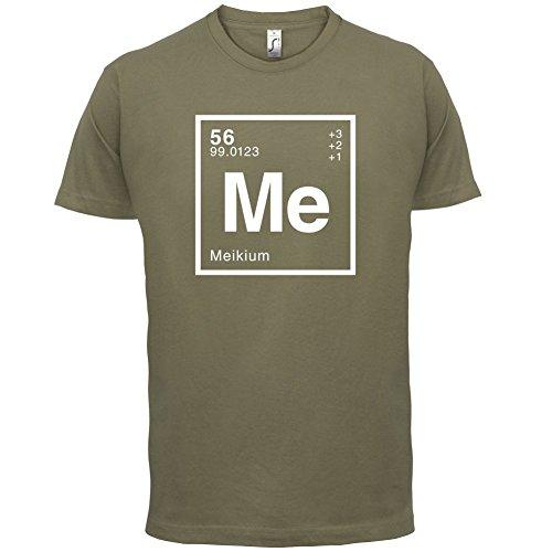 Meik Periodensystem - Herren T-Shirt - 13 Farben Khaki