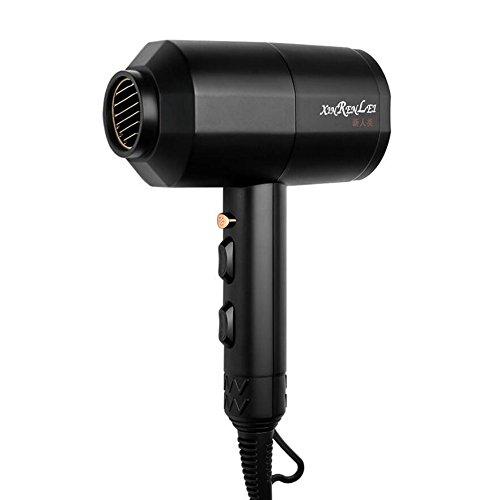Hhrong asciugacapelli dedicato ad alta potenza per la casa conveniente termostato asciugacapelli dc parrucchiere hotel asciugacapelli (colore : nero)