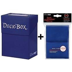 Ultra Pro pack Deck box azul + 100 fundas