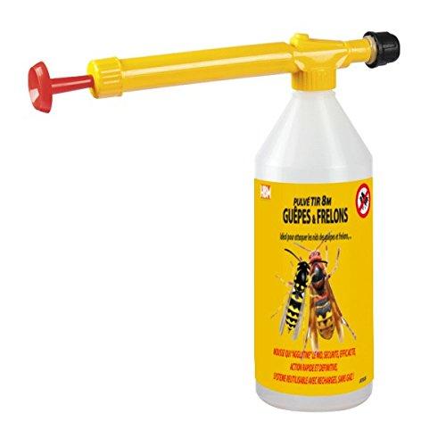 HBM Anti-Moustiques 001-GP-BMB003 Pulvé Tir 8M Guêpe/Frelon Recharge 10 ml