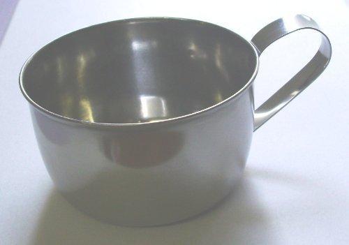 Japanese Stainless Steel Clip Handle Water Mug 8oz by JapanBargain Clip-handle Mug