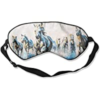 Sleep Eye Mask Oil Running Horses Lightweight Soft Blindfold Adjustable Head Strap Eyeshade Travel Eyepatch E8 preisvergleich bei billige-tabletten.eu