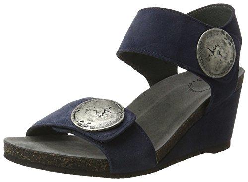 Ca'ShottA8026 - Sandali Donna , blu (Blau (Navy suede 51)), 39 EU