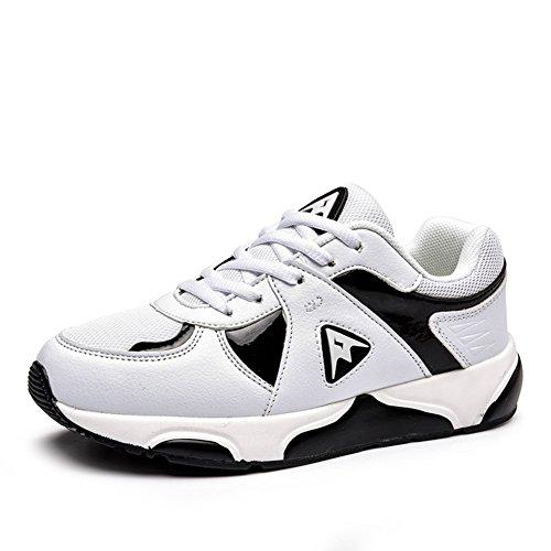 printemps/été femmes chaussures/Chaussures occasionnelles respirants/Chaussures de course de tendance de la version coréenne de nuit B
