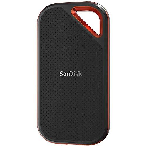 SanDisk Extreme Pro - Portable SSD de 2 TB y hasta 1050 MB/s con USB-C, de diseño robusto y resistente al agua