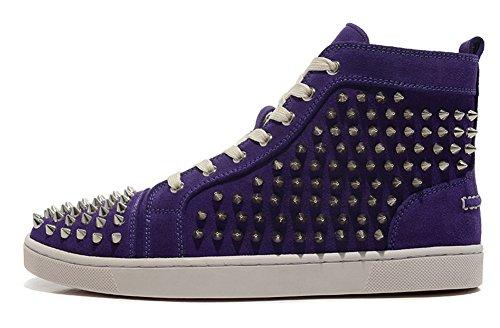 saman-zapatillas-deportivas-unisex-color-morado-louis-orlato-veau-terciopelo-plata-picos-oficina-de-
