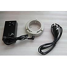 gowe New 160Bombilla LED Microscopio estéreo Anillo Luz iluuminator Zeiss ajustable