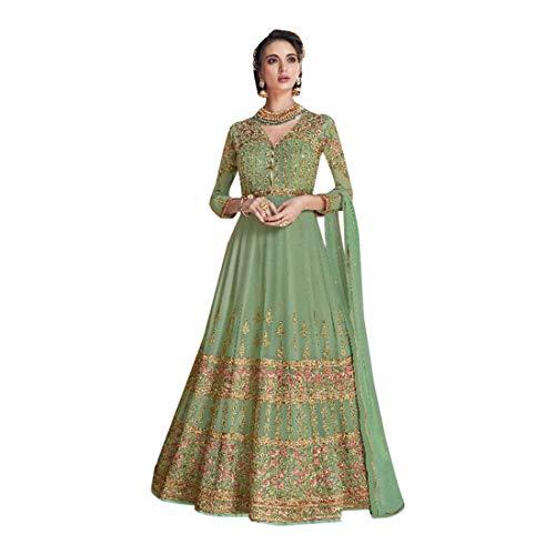 Bollywood 7648 Mastani Deepika inspirierte Kollektion Muslim Hochzeit Anarkali Georgette Salwar Kameez Suit Ethnic Party Wear Indianer Georgette Churidar