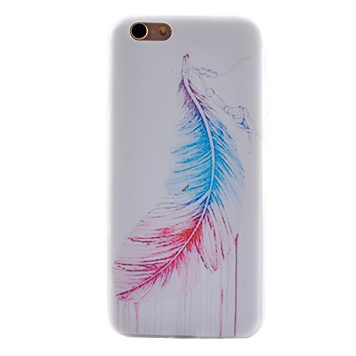 "MOONCASE pour iPhone 6 / 6S (4.7"") Silicone Housse Gel TPU Case Cover Coque Étui Mi05 Mi01 #1122"