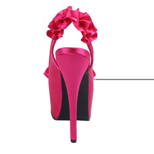 Bordello teeze-56 Fuchsia Satin