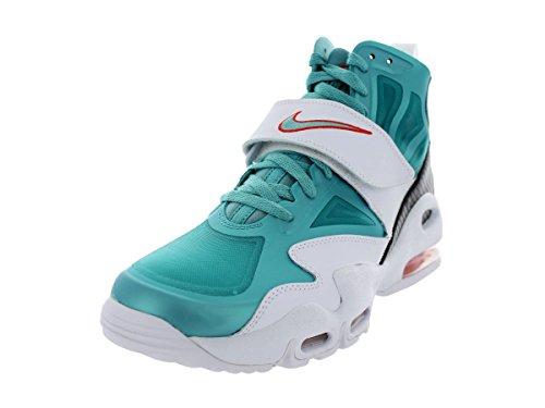Nike Roshe Run 599729, Mädchen Laufschuhe Training WHITE/SPRT TRQ/TM ORNG/TM ORNG